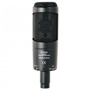 Micrófono de Condensador Estudio Audio-Technica AT2035 front