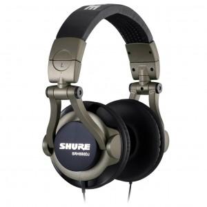 Auriculares DJ Shure SRH550DJ top
