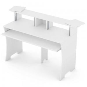 Complemento Estudio Mueble Glorious Workbench White angle
