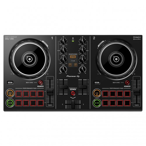 Controlador DJ 2 Canales Pioneer DJ DDJ-200 top