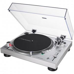 Plato Giradiscos Tracción Directa Audio-Technica AT-LP120XUSB (Silver) angle
