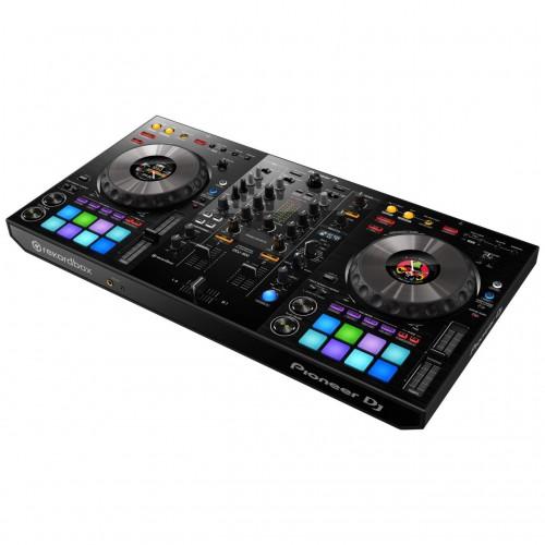 Mezclador-Controlador DJ 2 Canales Pioneer DJ DDJ-800 angle