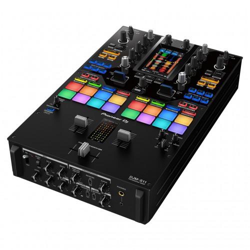 Mezclador DJ 2 Canales Pioneer DJ DJM-S11 angle