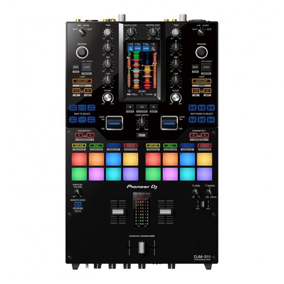 Mezclador DJ 2 Canales Pioneer DJ DJM-S11 top