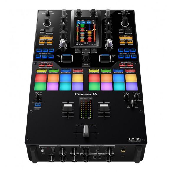 Mezclador DJ 2 Canales Pioneer DJ DJM-S11 perspective