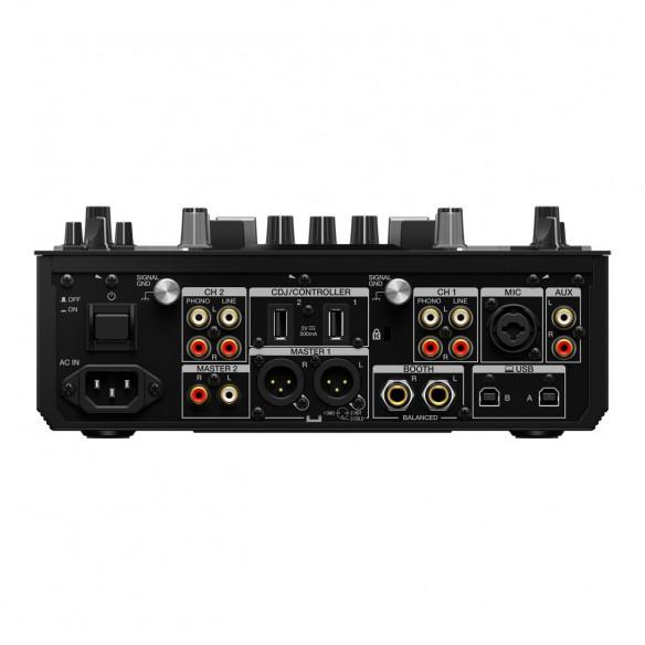 Mezclador DJ 2 Canales Pioneer DJ DJM-S11 rear