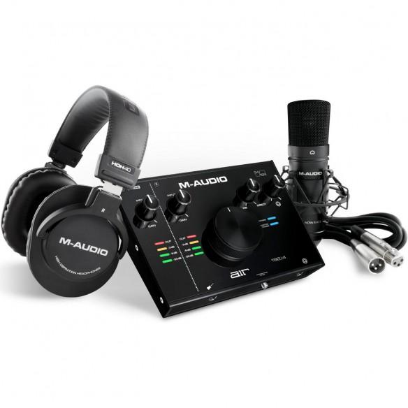 Pack Estudio M-Audio AIR 192|4 Vocal Studio Pro top