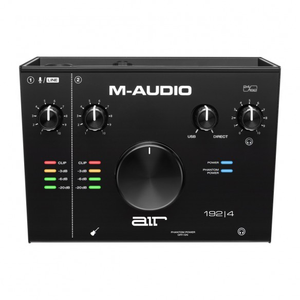 Pack Estudio M-Audio AIR 192|4 Vocal Studio Pro air1924-interface