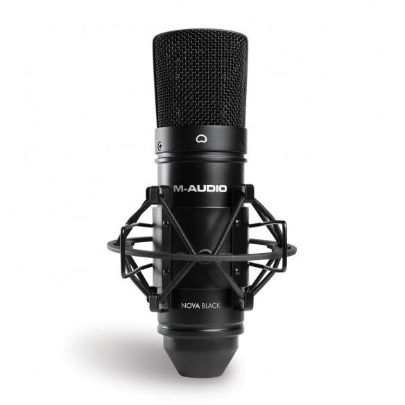 Pack Estudio M-Audio AIR 192|4 Vocal Studio Pro nova-black-mic