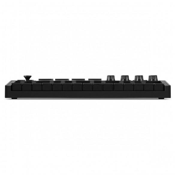 Teclado Controlador MIDI USB 25 Teclas Akai MPK Mini MK3 Black front