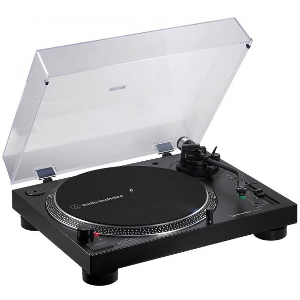 Plato Giradiscos Tracción Directa Audio-Technica AT-LP120XBT-USB angle