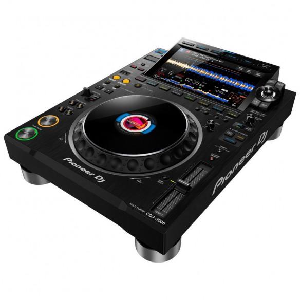 Multireproductor DJ profesional Pioneer DJ CDJ-3000 angle