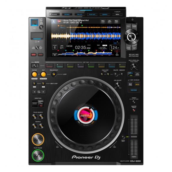 Multireproductor DJ profesional Pioneer DJ CDJ-3000 top