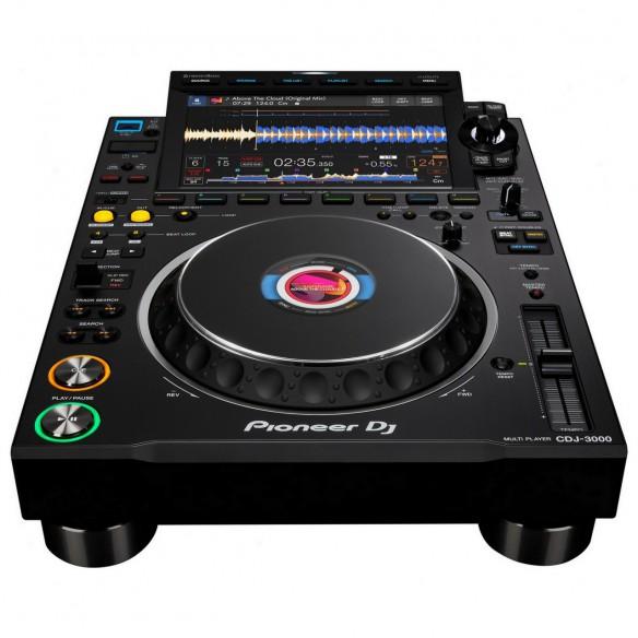Multireproductor DJ profesional Pioneer DJ CDJ-3000 perspective