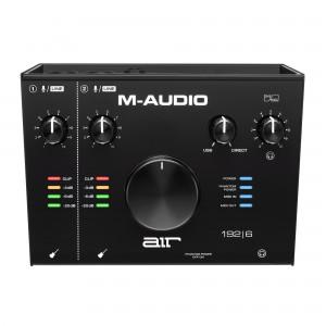 Interface Audio por USB M-Audio AIR 192 6 top