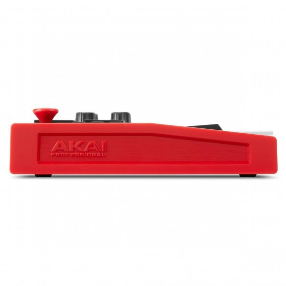 Teclado Controlador MIDI USB 25 Teclas Akai MPK Mini MK3 side