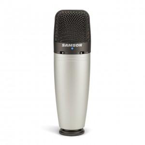 Micrófono de Condensador Estudio Samson C03 front