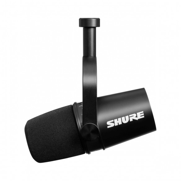 Micrófono Dinámico Shure MV7-K side