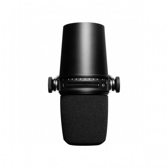 Micrófono Dinámico Shure MV7-K top