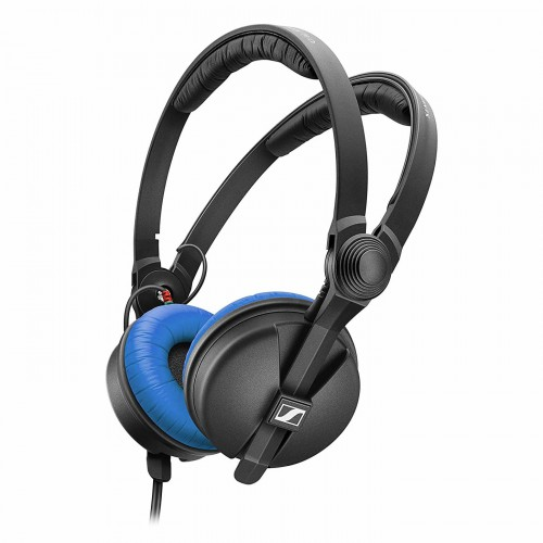 Auriculares DJ Sennheiser HD 25 Blue Limited Edition angle