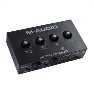Interface Audio por USB M-Audio M-Track Duo angle