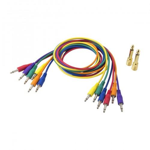 Complemento Estudio Cable Patch Korg SQ-Cable-6 (Minijack/M Mono a Minijack/M Mono) top