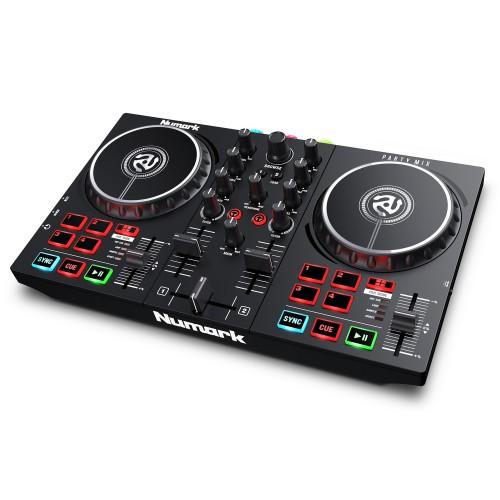 Controlador DJ 2 Canales Numark Party Mix II angle
