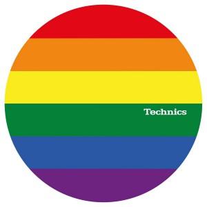 Complemento DJ Patinadores Magma LP Slipmats Technics Pride