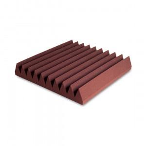 Pack Paneles Absorción EZ Acoustics EZ Foam Wedges 10 Garnet