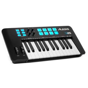 Teclado Controlador MIDI USB 25 Teclas Alesis V25 MKII angle