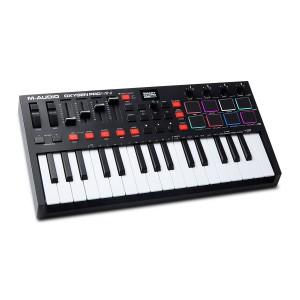 Teclado Controlador MIDI USB 25 Teclas M-Audio Oxygen Pro Mini angle