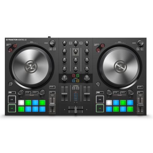 Controlador DJ 2 Canales Native Instruments Traktor Kontrol S2 MK3 top