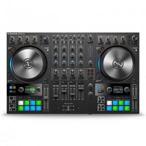 Mezcaldor-Controlador DJ 4 Canales Native Instruments Traktor Kontrol S4 MK3 top