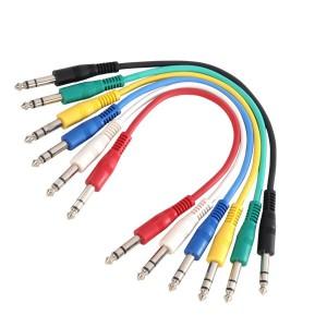 Cable de Audio Patch Adam Hall Cables K3 BVV 0060 SET (Jack/M Stereo a Jack/M Stereo)