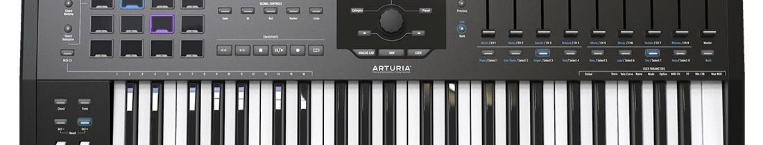 Teclados MIDI 49 Teclas