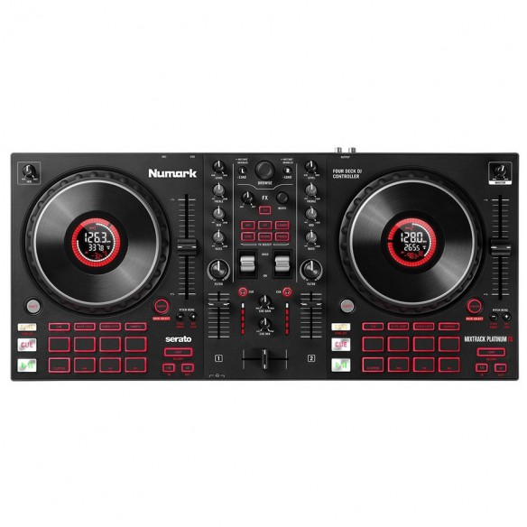 Controladores DJ 2 Canales